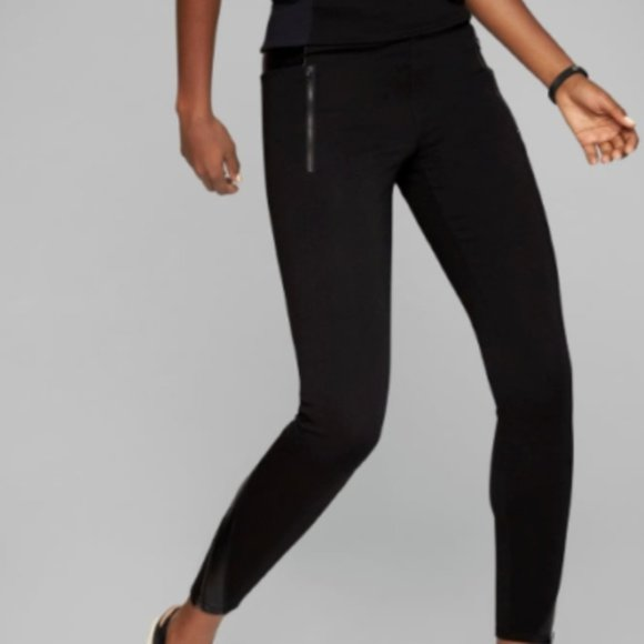 Athleta Pants - Athleta Luxe Ponte Leggings size XS Black